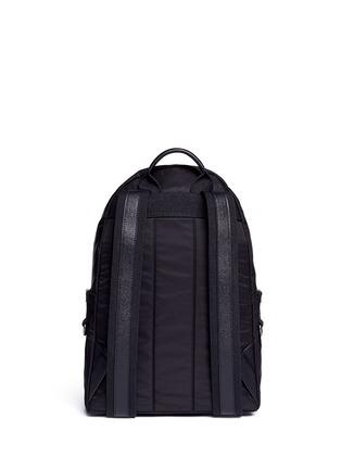 Back View - Click To Enlarge - Dolce & Gabbana - ''Vulcano' Sicilian man appliqué nylon backpack