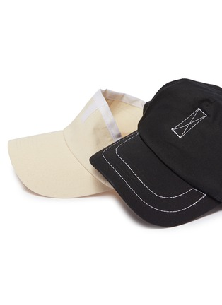 Detail View - Click To Enlarge - Bernstock Speirs - Detachable visor layered baseball cap