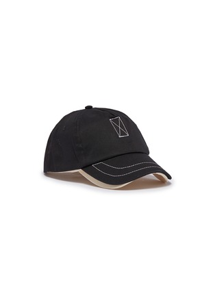 Main View - Click To Enlarge - Bernstock Speirs - Detachable visor layered baseball cap