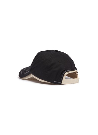 Figure View - Click To Enlarge - Bernstock Speirs - Detachable visor layered baseball cap