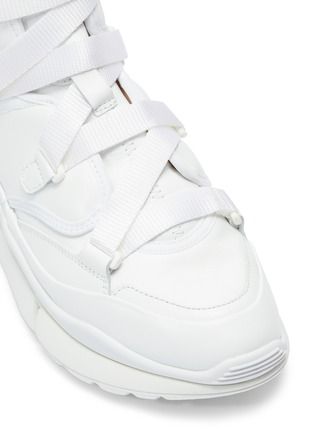 Detail View - Click To Enlarge - CHLOÉ - 'Sonnie' chunky outsole high top sneakers