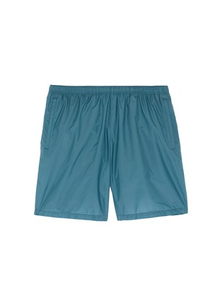 Main View - Click To Enlarge - Prada - Logo patch swim shorts