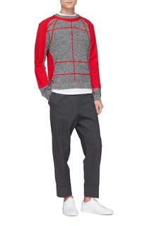 Craig Green Sweatshirt panel colourblock sweater