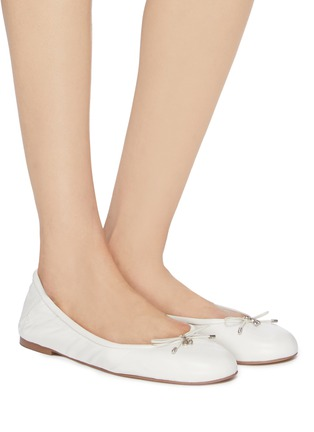 67c8321be86d Figure View - Click To Enlarge - Sam Edelman - 'Felicia' leather ballet  flats