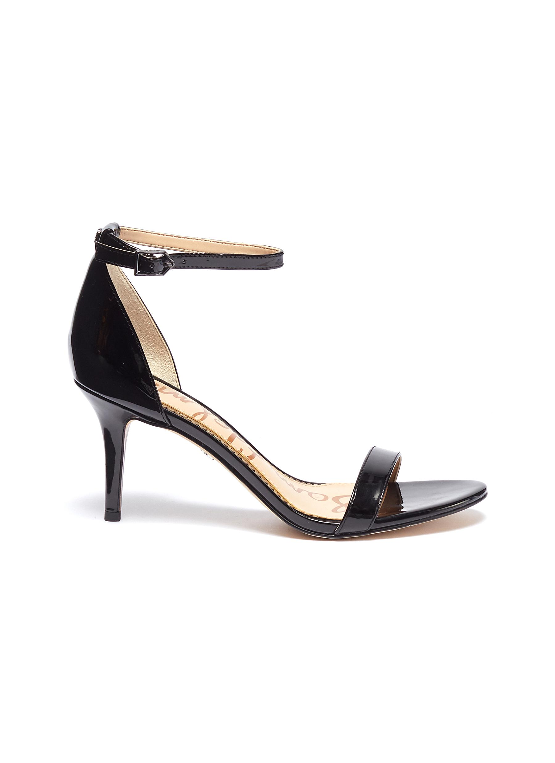 f631c920350 Sam Edelman.  Patti  ankle strap patent leather sandals