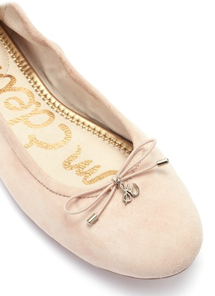 8f2691ec9a55a Detail View - Click To Enlarge - Sam Edelman -  Felicia  suede ballet flats