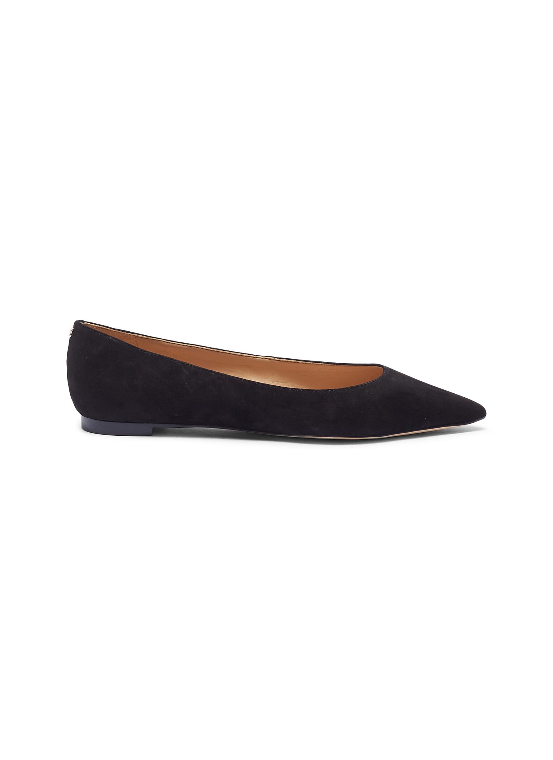 Sally suede skimmer flats by Sam Edelman