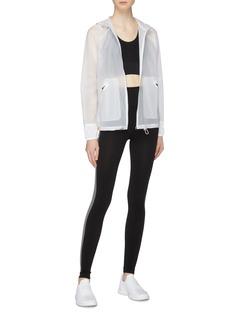 Monreal London 'Wave' hooded windbreaker jacket