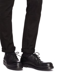 Marsèll 'Zucca Zeppa' toe cap creased leather Derbies