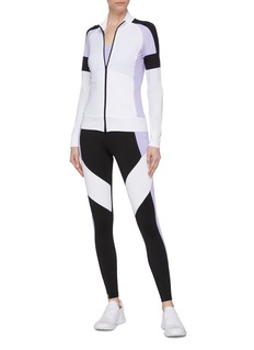 MONREAL 'Featherlight' colourblock raglan windbreaker jacket