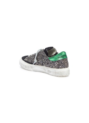- Golden Goose - 'May' glitter coated leather sneaker