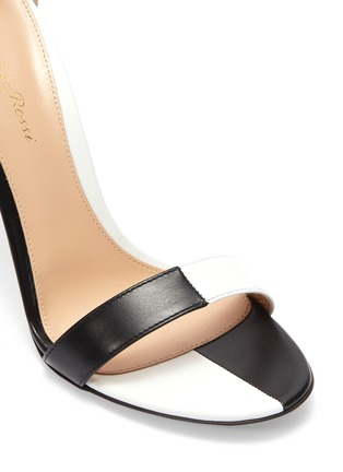 3937a9a94ac Detail View - Click To Enlarge - Gianvito Rossi -  Dama  colourblock ankle  strap
