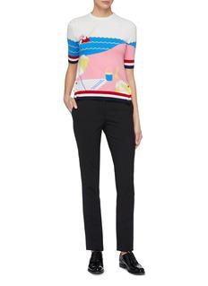 Thom Browne Swim graphic intarsia cashmere sweater