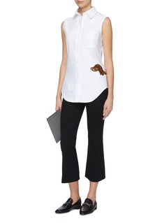 Thom Browne Sequin Hector sleeveless shirt