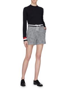 Thom Browne Stripe cuff wool sweater