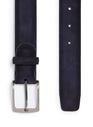 Detail View - Click To Enlarge - MAGNANNI - Suede belt