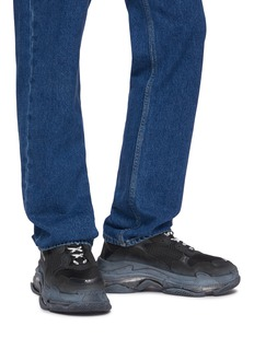 Balenciaga 'Triple S Clear Sole' stack midsole mesh sneakers