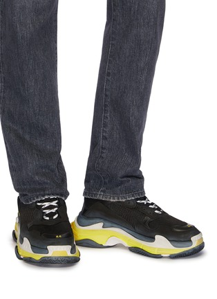 Figure View - Click To Enlarge - Balenciaga - 'Triple S' stack midsole mesh sneakers