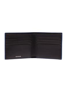 Balenciaga 'Everyday' logo print leather bifold wallet