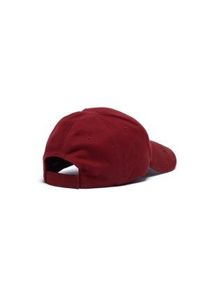 Figure View - Click To Enlarge - BALENCIAGA - 'Everyday' logo embroidered visor baseball cap