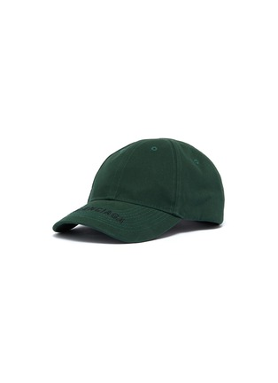Main View - Click To Enlarge - BALENCIAGA - 'Everyday' logo embroidered visor baseball cap