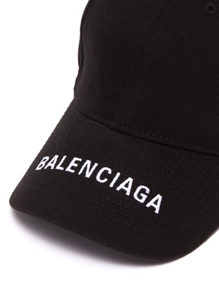 Detail View - Click To Enlarge - Balenciaga - 'Everyday' logo embroidered baseball cap