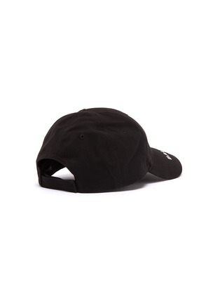 Figure View - Click To Enlarge - Balenciaga - 'Everyday' logo embroidered baseball cap