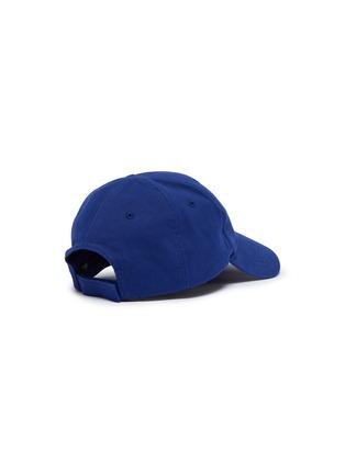 Figure View - Click To Enlarge - BALENCIAGA - Presidential logo embroidered baseball cap