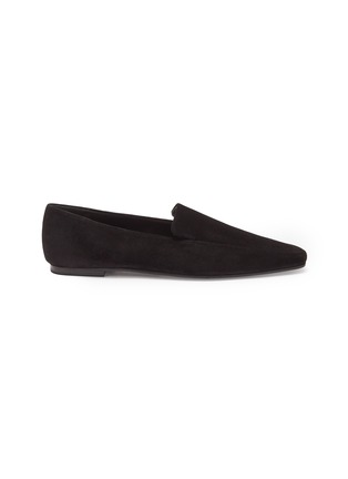 Main View - Click To Enlarge - THE ROW - 'Minimal' suede loafers