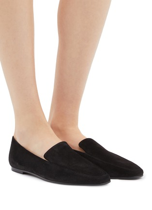 Figure View - Click To Enlarge - THE ROW - 'Minimal' suede loafers