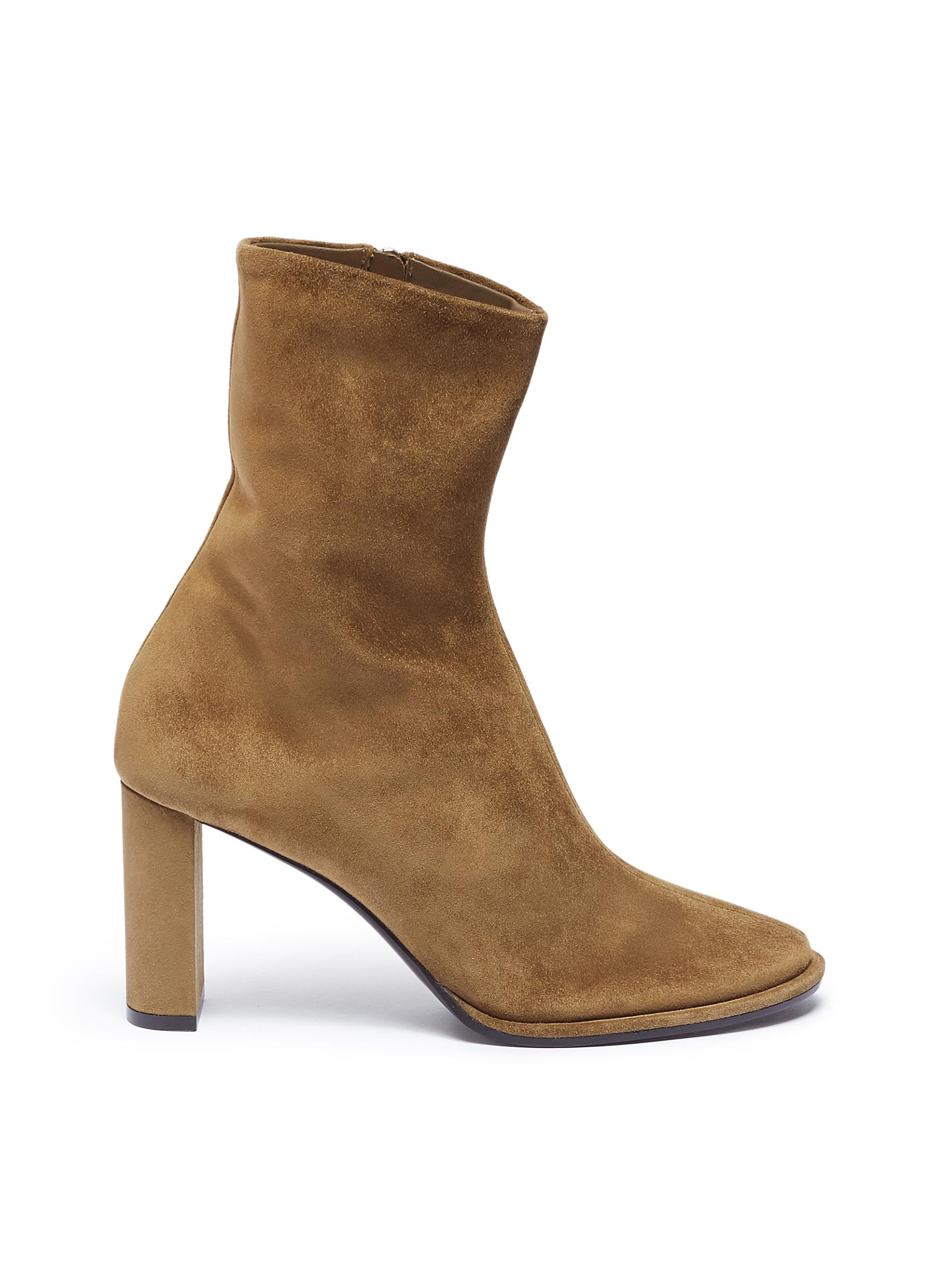Tea Time suede ankle boots by The Row