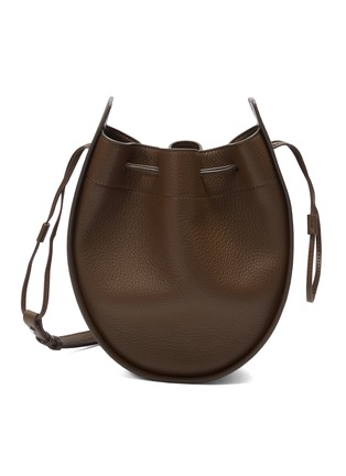 The Row Leather Drawstring Shoulder Bag