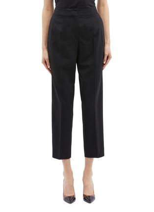 Main View - Click To Enlarge - Oscar de la Renta - Cropped wool suiting pants