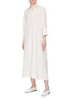 Jil Sander Half-button placket shirt dress