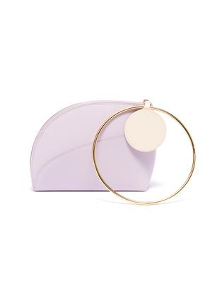 Main View - Click To Enlarge - ROKSANDA - 'Eartha' ring handle small leather bag