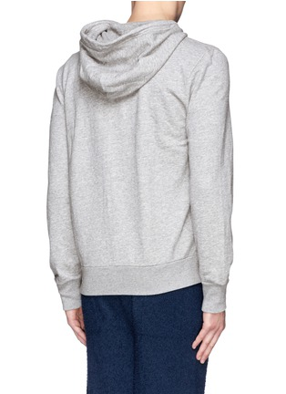 Back View - Click To Enlarge - RAG & BONE - 'Standard Issue' cotton terry zip hoodie