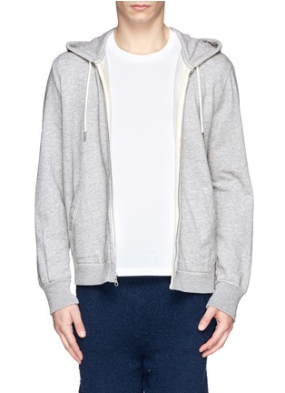 Main View - Click To Enlarge - RAG & BONE - 'Standard Issue' cotton terry zip hoodie