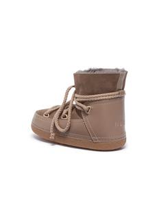 INUIKII Kids 'Classic' shearling kids lace-up sneaker boots