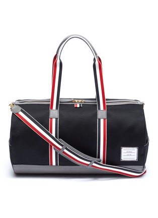 Main View - Click To Enlarge - Thom Browne - Stripe strap duffel bag
