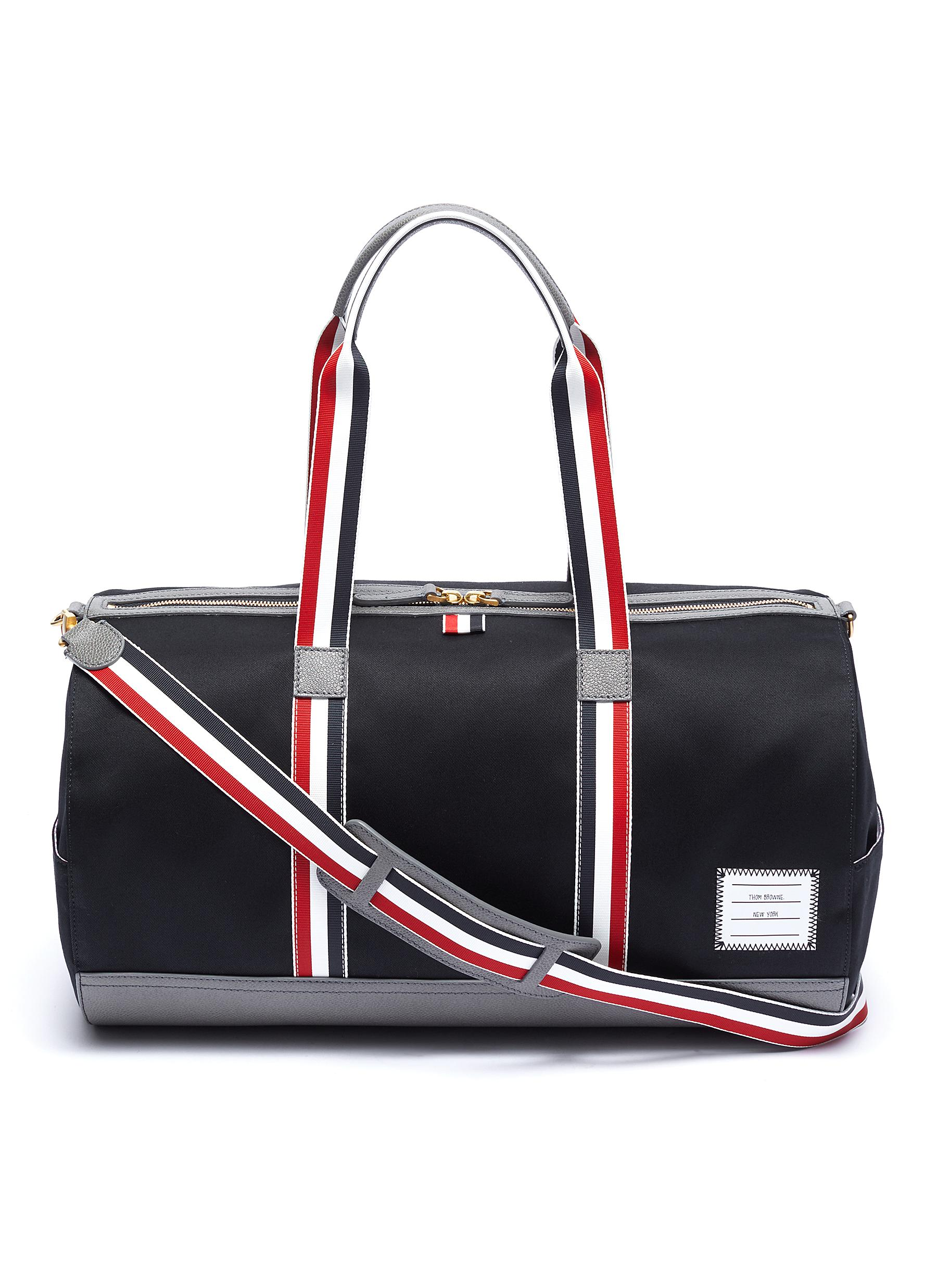 f28a5de32d Main View - Click To Enlarge - Thom Browne - Stripe strap duffel bag