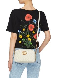 Gucci 'GG Marmont' small matelassé leather bag
