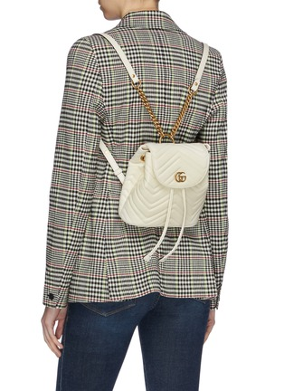 42f428da650d Figure View - Click To Enlarge - Gucci - 'GG Marmont' matelassé leather  backpack