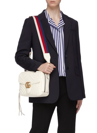f9ad6a52b38 Gucci.  GG Marmont  small matelassé leather shoulder bag