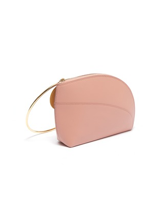 Detail View - Click To Enlarge - Roksanda - 'Eartha' ring handle small leather bag