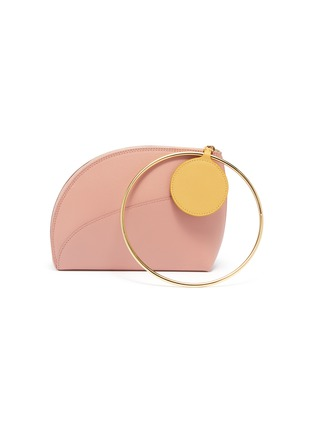 Main View - Click To Enlarge - Roksanda - 'Eartha' ring handle small leather bag