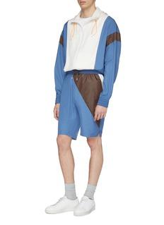 8ON8 Colourblock track shorts