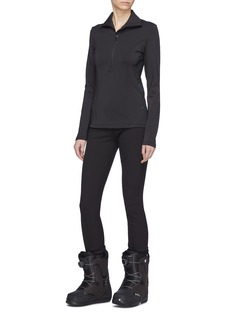 Goldbergh 'Haruko' star outseam half-zip high neck ski top