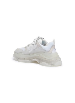 - BALENCIAGA - 'Triple S Clear Sole' stack midsole mesh sneakers