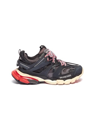 Main View - Click To Enlarge - BALENCIAGA - 'Track' caged patchwork sneakers