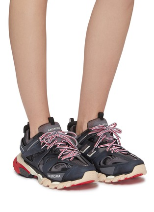 Balenciaga Track Caged Patchwork Sneakers Women